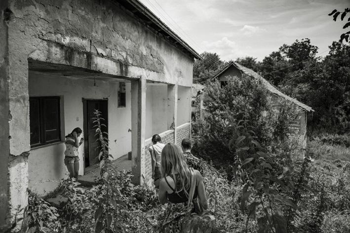 Mostra IO NON ODIO, Casa di Zijo Skocic, fotografia di Andrea Rizza Goldstein