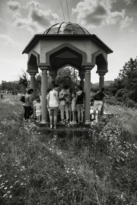 Mostra IO NON ODIO, Cimitero di Mezarja Skocic, fotografia di Andrea Rizza Goldstein